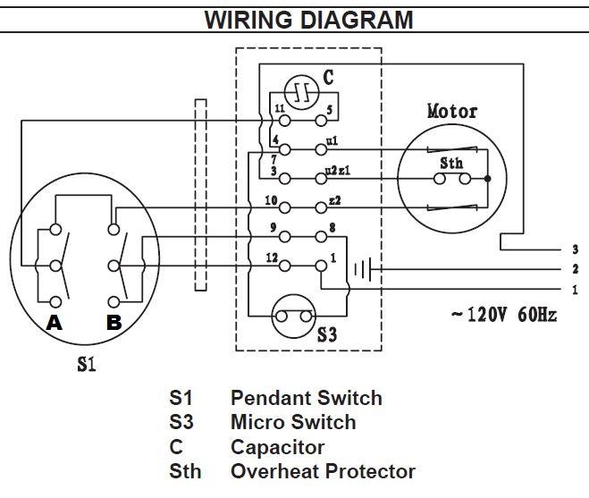 120vac winch wiring diagram  wiring diagram of yamaha