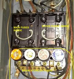 the two fuses in the left pull out are the fuses that protect the whole panel  [ 800 x 1614 Pixel ]