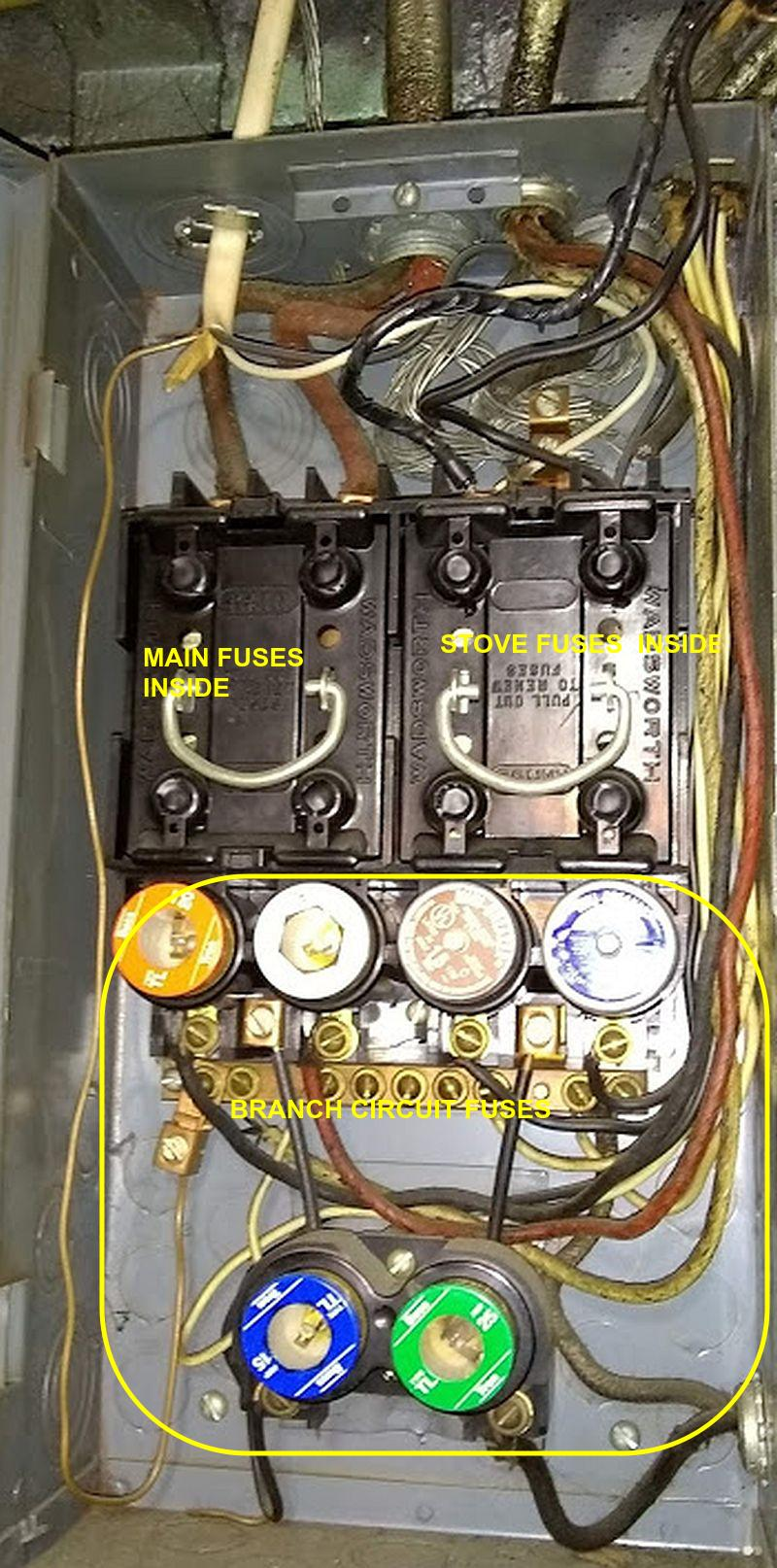 medium resolution of the two fuses in the left pull out are the fuses that protect the whole panel