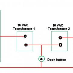 Doorbell Diagram Wire Lcd Wiring 2 Doorbells 1 Transformer Pleeeeeeeeeeeeeeezzzze Help! - Doityourself.com Community Forums