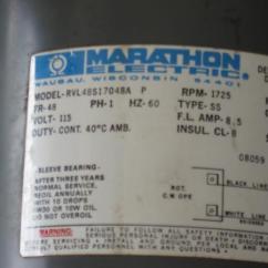 Reversing Starter Wiring Diagram Honda Today 50 Marathon 1/2 Hp Electric Motor - Doityourself.com Community Forums