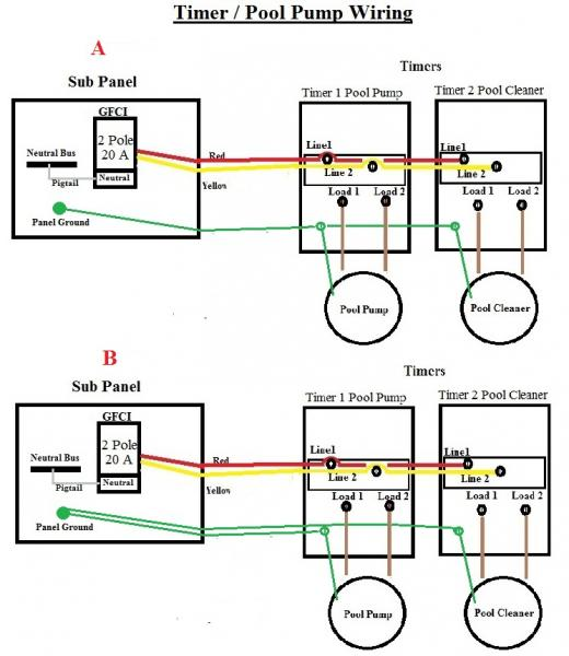 pool timer wiring diagram - efcaviation, Wiring diagram