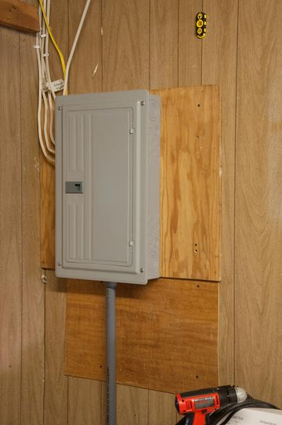 A Main Breaker Panel Wiring Upgrading Sub Panel For Attached Garage Doityourself Com