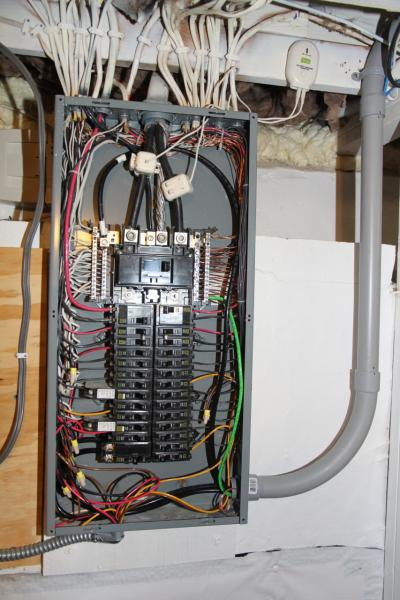 Electrical Service Panel Wiring Diagrams In Addition Sub Panel Breaker