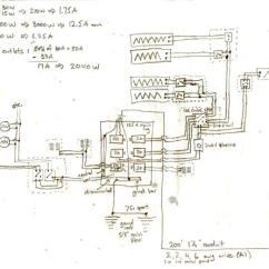 240v Sub Panel Wiring Diagram Goodman Heat Pump Defrost Control Feedback On Subpanel, Heating Circuits, Diagram, Parts List - Doityourself.com Community ...