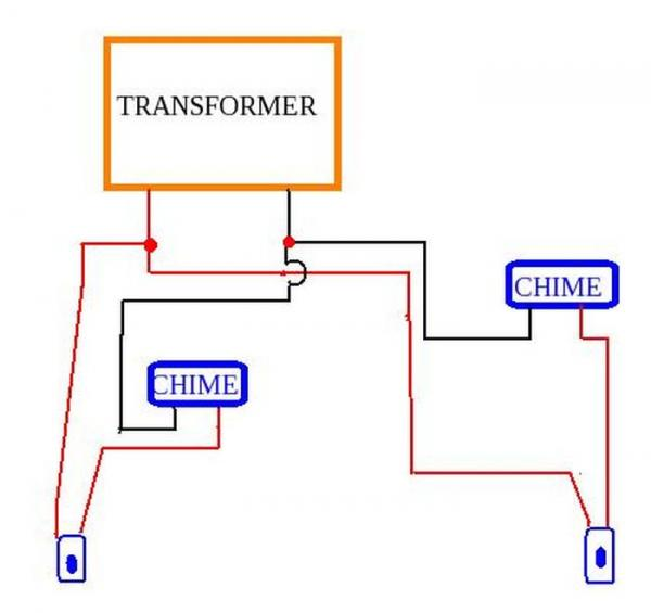 bell 901 door entry system wiring diagram web services flow for doorbell and schematics source adding a 2nd chime already have 1 transformer 2