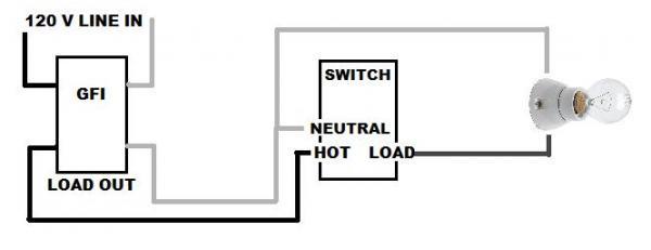 switch leg wiring light