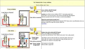 3 way switch digital timer  DoItYourself Community Forums