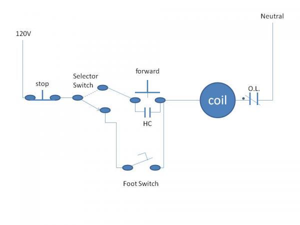 diagram toggle wiring rocker switch vw alternator magnetic motor starter/on-off control - doityourself.com community forums