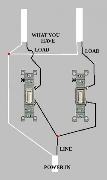 ac wall wiring