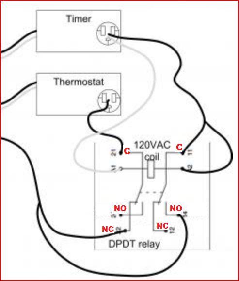 24vac Relay Wiring Diagram : 26 Wiring Diagram Images