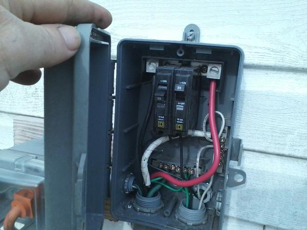 rv ac plug wiring diagram 2008 ford f150 lariat radio run a 30 amp outlet.... outside non burial? - doityourself.com community forums