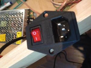 Need help wiring an inlet male power rocker switch