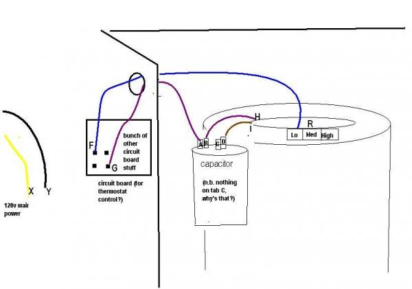 thermostat wiring circuit board