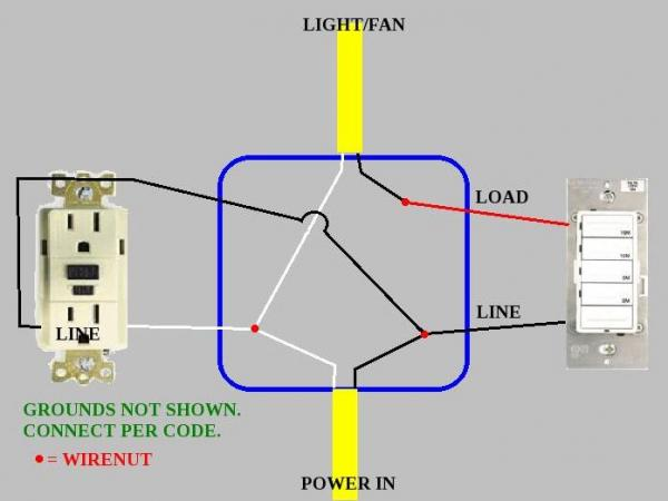 Wiring Diagram Further Electrical Outlet Light Switch Wiring Diagrams