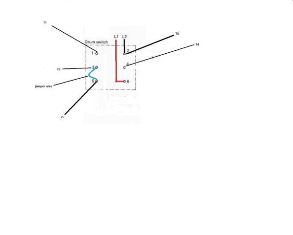 drum switch wiring diagram 208 wiring diagram
