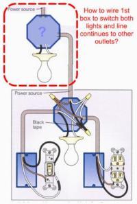 How to wire light according to diagram - DoItYourself.com ...