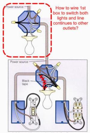 How to wire light according to diagram  DoItYourself
