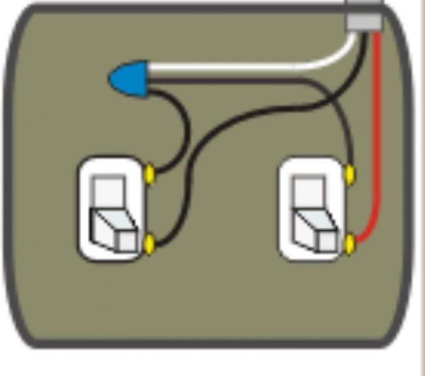 Light Switch Wiring Diagram Red Black White