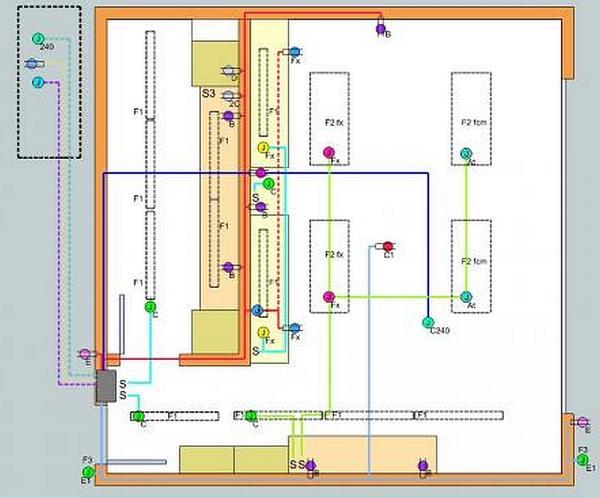 Garage Electrical Layout Critique My Wiring Plan For My Garage Electrical Diy Dave Noemi 39 S Garage Week Ending February 24 Install Garage Electrical Wiring Garage Electrical Trying To Plan Ahead Thoughts