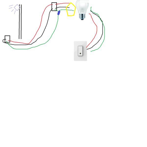 Ac Dc Light Wiring Need Help Wiring Garage Flood Light Doityourself Com