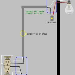 Lighting Contactor Photocell Wiring Diagram For Car Stereo Capacitor Install With Toyskids Co Need Help Garage Flood Light Doityourself Com Ac Relay Schematic