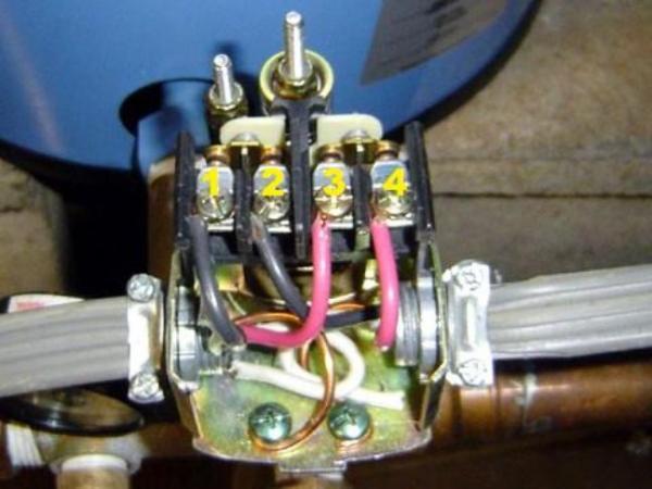 Motor Diagram Besides Well Pump Pressure Switch Wiring Diagram