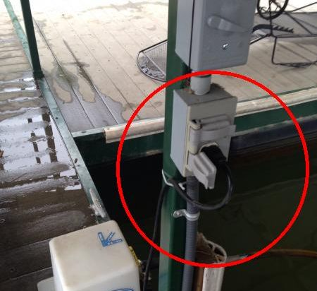 Ac Power Cord Wiring Boat Dock Electrical Issue Doityourself Com Community Forums