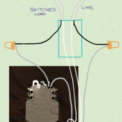 Outlet Switch Combo Wiring Diagram Fender Jaguar Hh Need Help With A Gfci Switch/outlet Into Current Light - Doityourself.com ...