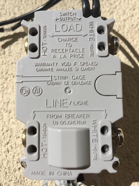 cooper gfci outlet wiring diagram 1998 jeep cherokee trailer switch toyskids co need help with a combo into