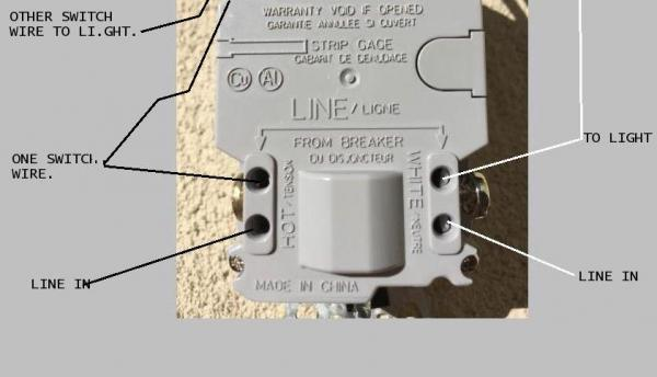 need help with wiring a gfci combo switch/outlet into
