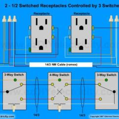 Double Outlet Wiring Diagram 3sgte Need Help On Easiest Way To Wire Split Receptacles 4 Switch. - Doityourself.com ...