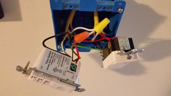 Wiring Diagram Fan With Timer