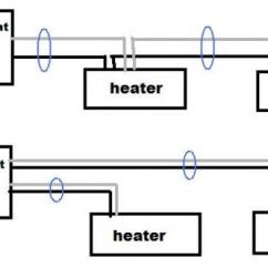Electric Baseboard Heater Wiring Diagram Ibanez Dimarzio Two 240volt Baseboards And Double Pole Thermostat - Doityourself.com Community Forums