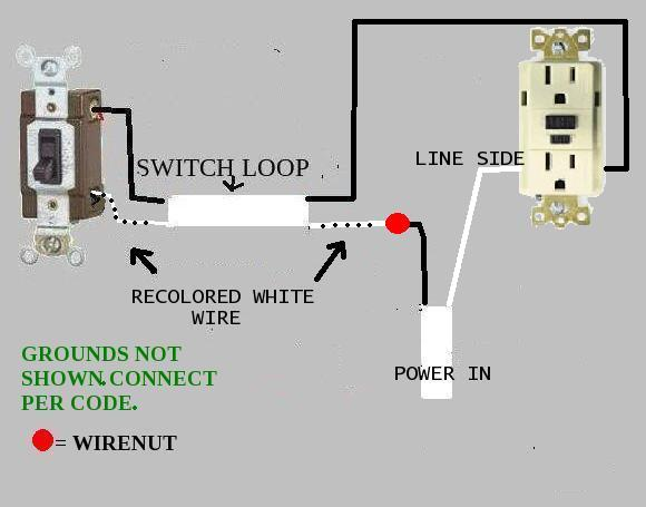 double switch outlet wiring diagram interstate enclosed trailer a disposal with - doityourself.com community forums