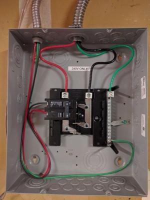 240V Only Sub Panel  DoItYourself Community Forums