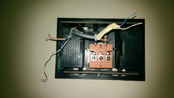 Wiring Of Doorbell