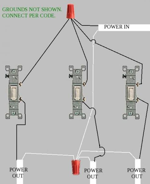 Double Switch Wiring Diagram Messed Up : 38 Wiring Diagram