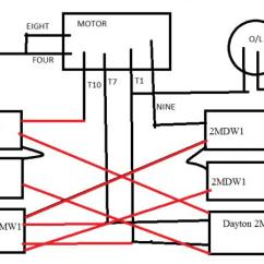 Ac Motor Starter Wiring Diagram Of Weaving Loom Dayton 6k884c 7.5 Hp With 6 Capicitors - Doityourself.com Community Forums