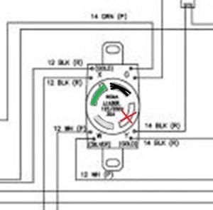 How do I wire UK spec 3 pin to 6Kw generator 4 pin?  DoItYourself Community Forums