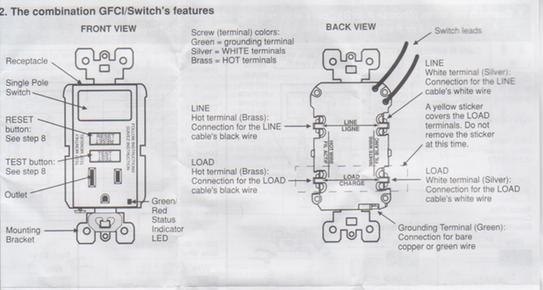 how to wire a switched outlet diagram velux window motor wiring leviton switch/gfi combo - doityourself.com community forums