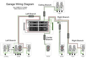 Garage Wiring Diagram  DoItYourself Community Forums