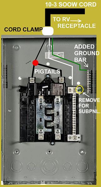 30 Amp Rv Breaker Box Wiring Diagram View Diagram