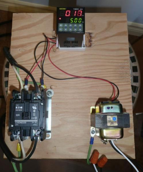 timer and contactor wiring diagram door entry phone need 240v with a programmable duty cycle - doityourself.com community forums