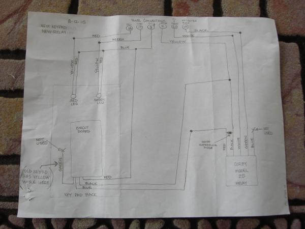 Figure 51 Audible Alarm Wiring Diagram