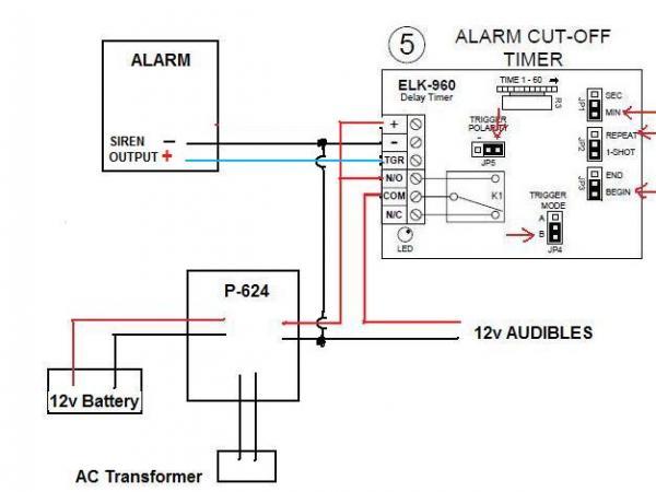Need help connecting an external siren to GE Simon XT v2