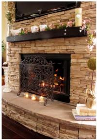 Replacing gas insert fireplace