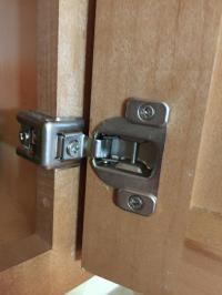 Are kitchen cabinet hinge holes universal for replacement