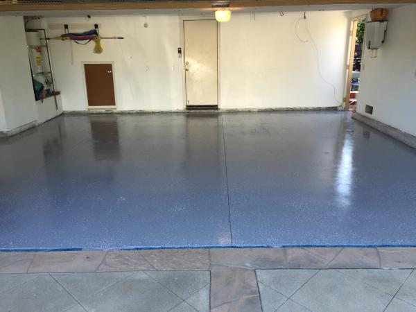 Epoxy seal garage floor  DoItYourselfcom Community Forums