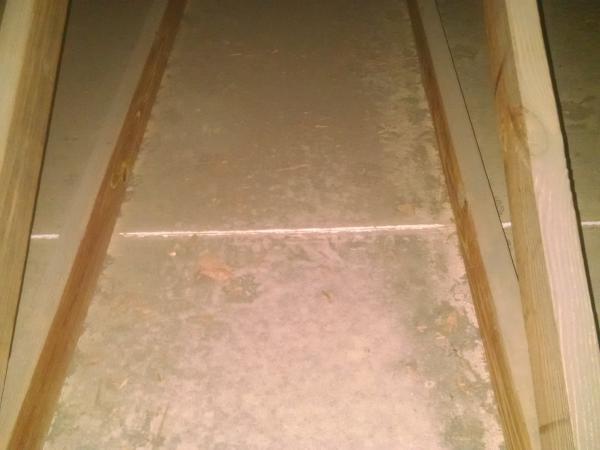 Cracks In Garage Ceiling Drywall Along Sheetrock Seams